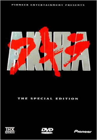 Akira us special edition dvd.